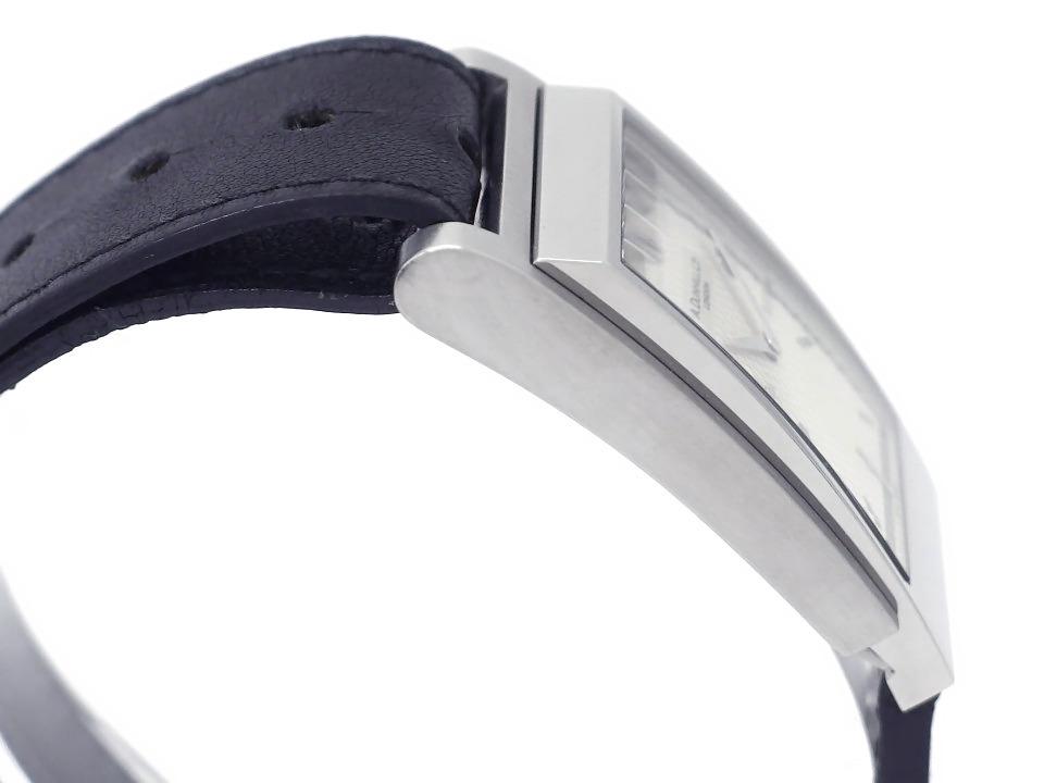 ダンヒル ウェイファー 8035 シルバー文字盤 ステンレスケース クオーツ 2007年購入品 USED