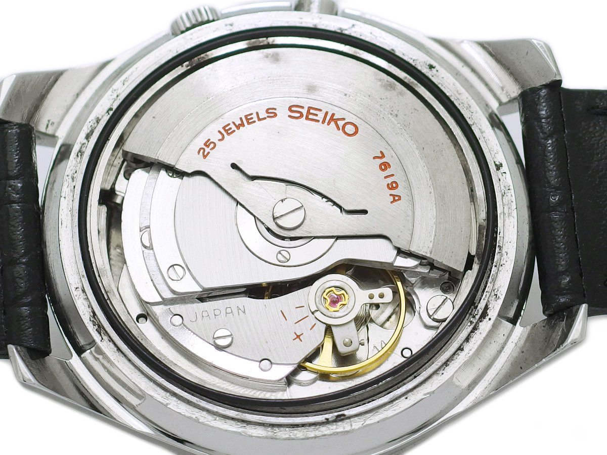 セイコー スポーツマチック ファイブ デラックス 7619-7010 自動巻 OH済 昭和40年/1965年製 Seiko