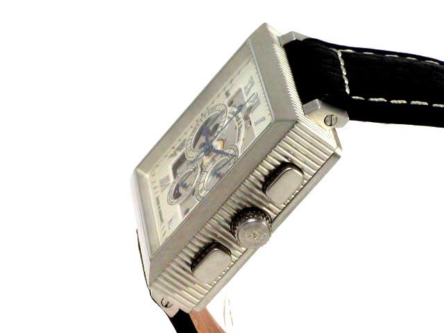 シャウボークウォッチ リンドバーグ&ベンソン スクエアマティック 3D クロノグラフ 新品 Schaumburg Watch Lindburgh & Benson Squarematic