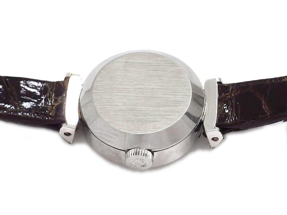 オメガ デヴィル 511.286 レディース プリズム風防 純正尾錠付き Cal.484 手巻 OH済 1964年製
