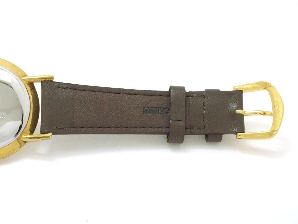 ロイヤルオリエント D114534 金メッキケース/ステンレス裏蓋 手巻 OH済 1960年代