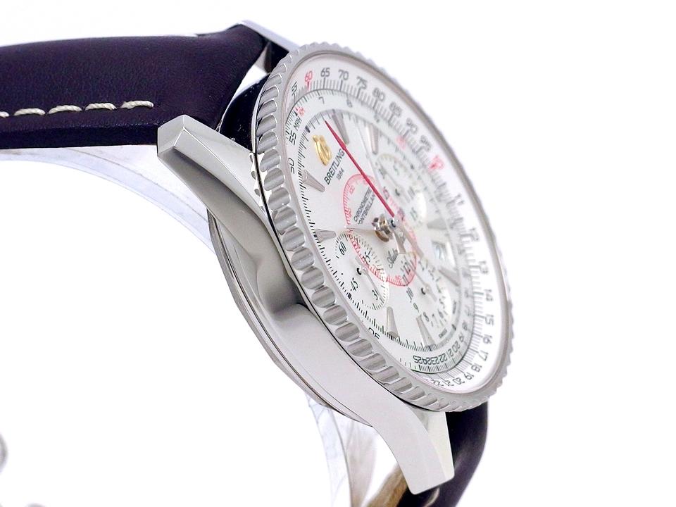 【美品】ブライトリング モンブリラン01 AB0130 A033G09W 自動巻 2012年以降 USED Breitling