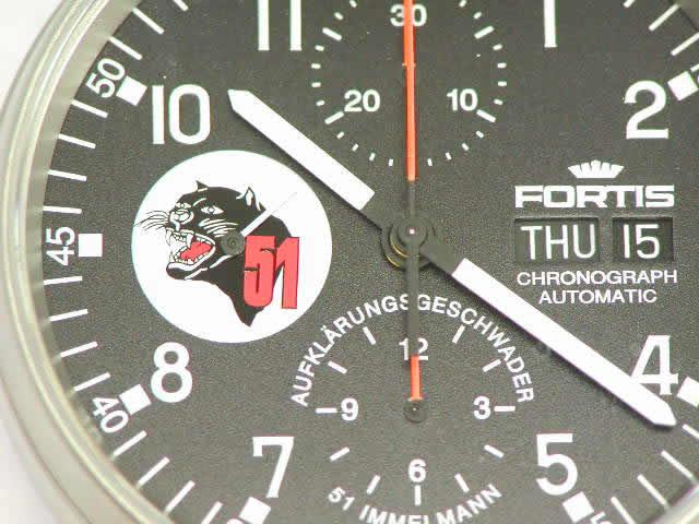 フォルティス パイロット クロノグラフ 世界200本限定 『イメルマン51』 新品 Fortis