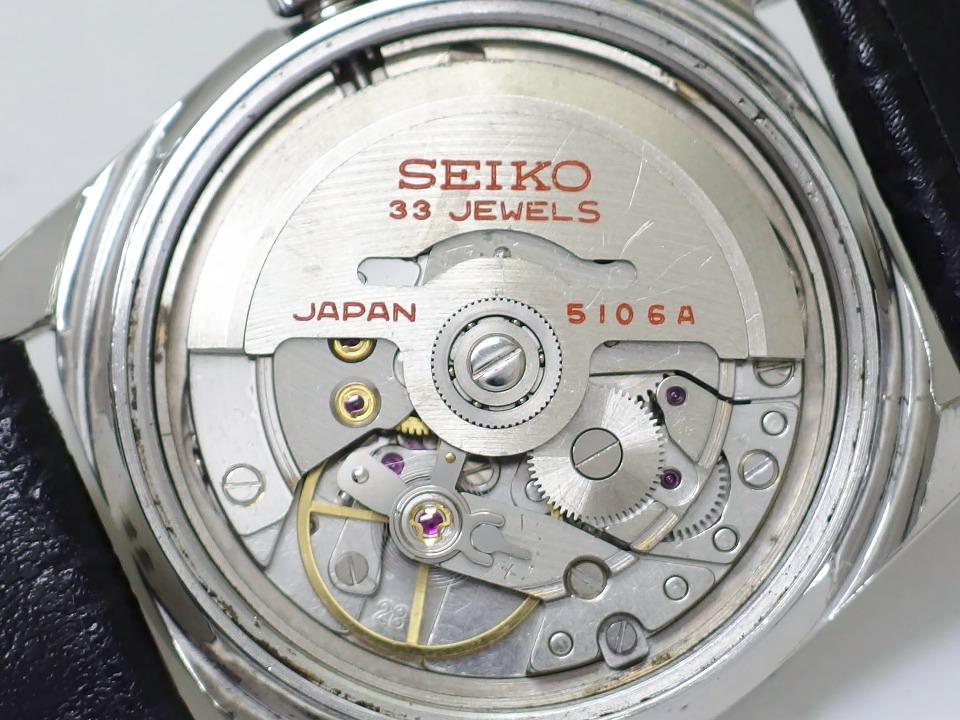 セイコー マチックP 5106-7000 デイデイト プッシュリューズ 33石 自動巻 OH済 昭和42年/1967年製
