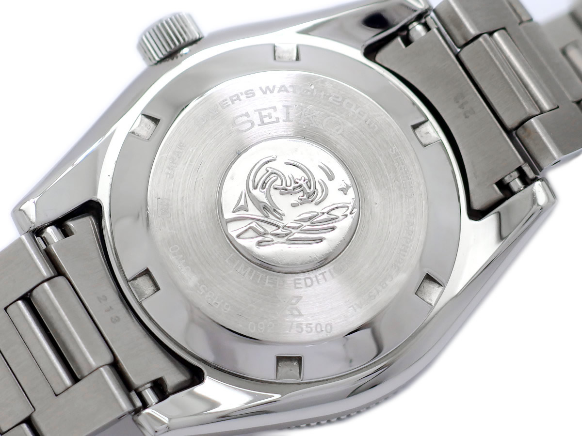 セイコー プロスペックス ダイバー200m SBDC107 55周年限定モデル 自動巻 2020年発売 USED Seiko