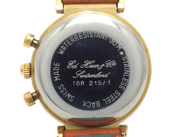タグホイヤー エドワードホイヤー 125周年記念 復刻版 188.215/1 手巻 OH済 USED