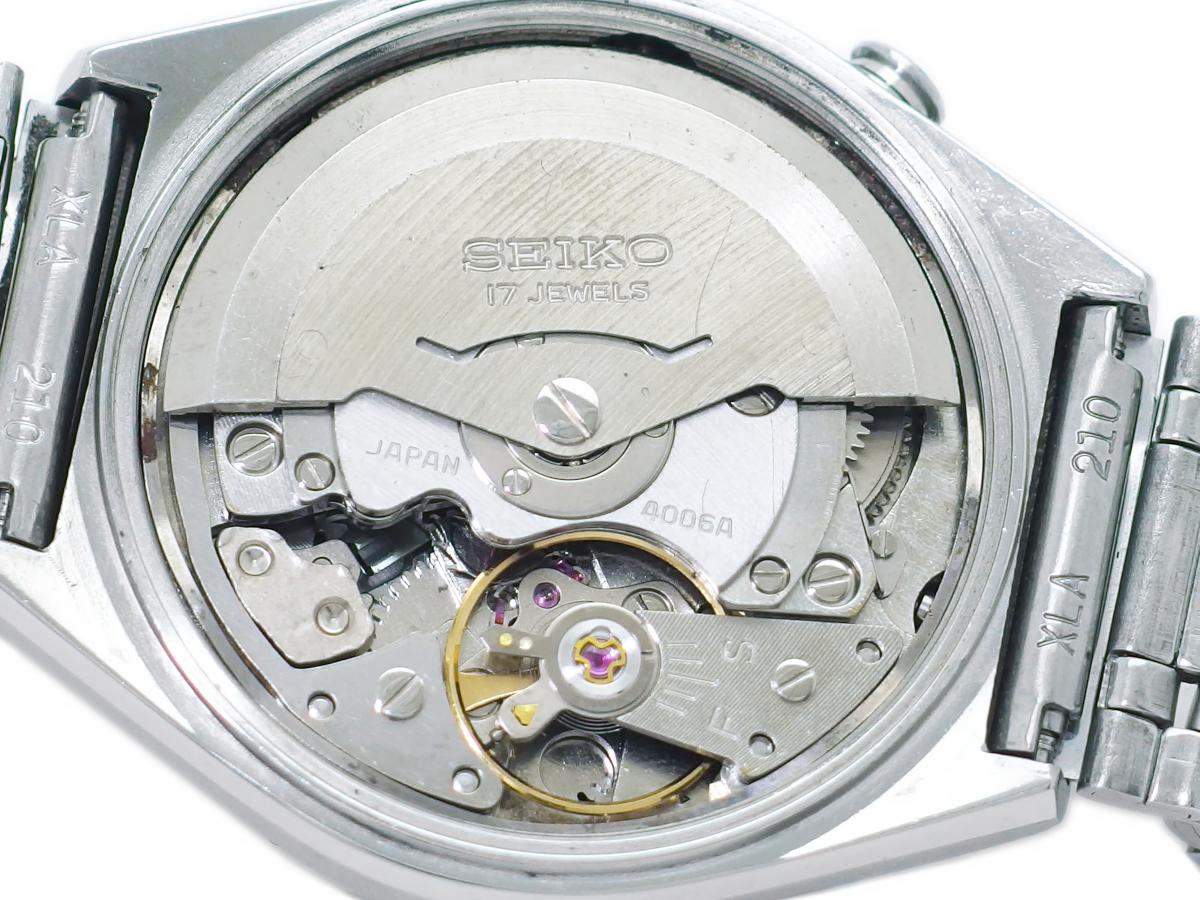セイコー ベルマチック デイデイト 4006-6070 自動巻 OH済 昭和52年/1977年製 Seiko