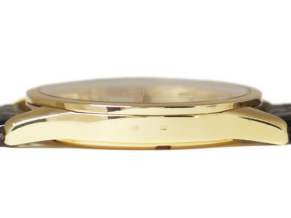 バセロンコンスタンチン Ref.46010 1Pダイヤ 18KYG/金無垢ケース 33石 Cal.1124/1 自動巻 OH済 1990年代 USED