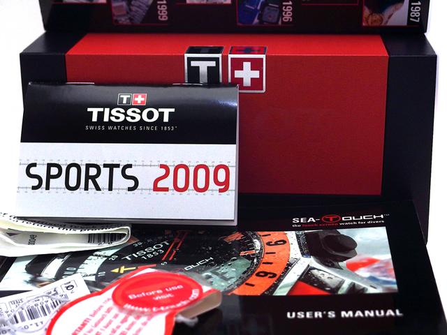 ティソ シータッチ T026.420.11.051.00 タッチセンサー搭載 クオーツ USED
