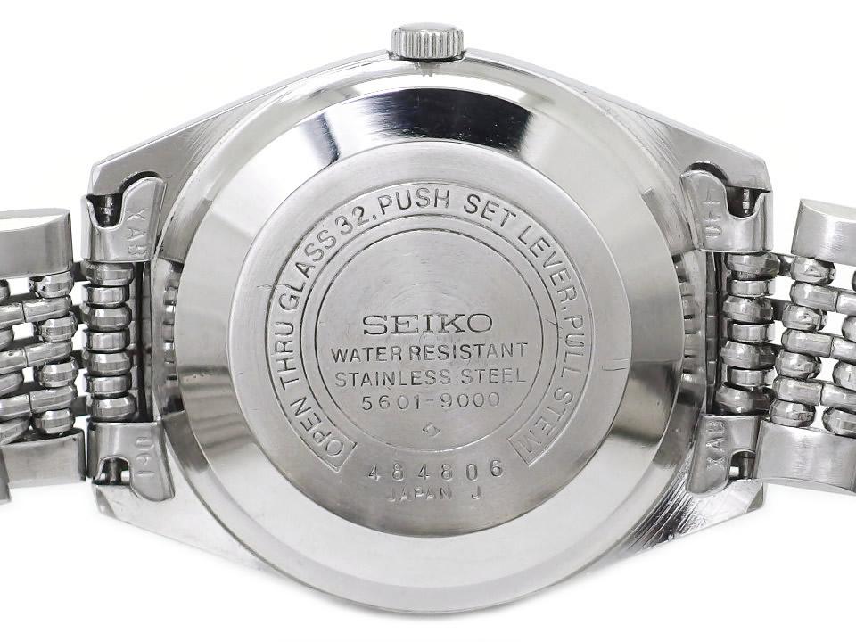 セイコー ロードマチック 5601-9000 ノンデイト 純正ブレスレット 自動巻 OH済 昭和49年/1974年製
