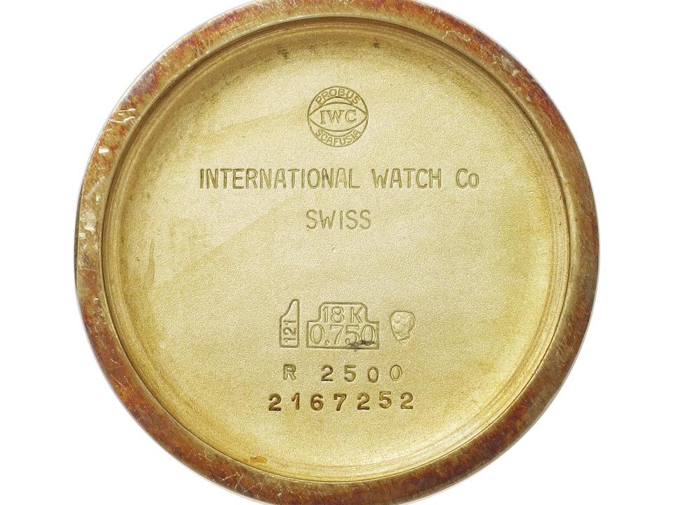 IWC Ref.2500 18K金無垢 Cal.423 17石 手巻き OH済 1976年製