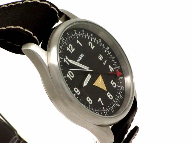 ユンカーズ GMT ヨーロピアンエディション1596 クオーツ USED