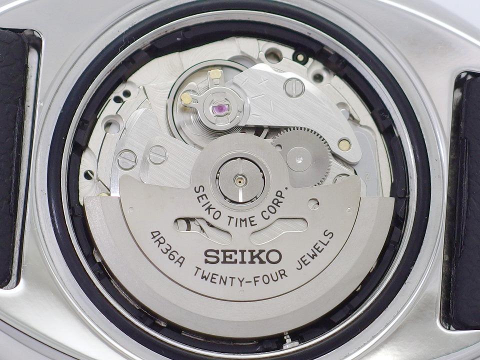 セイコー プロスペックス ダイバーズ 200m 4R36-04Y0 黒金 逆輸入 自動巻 OH済 USED