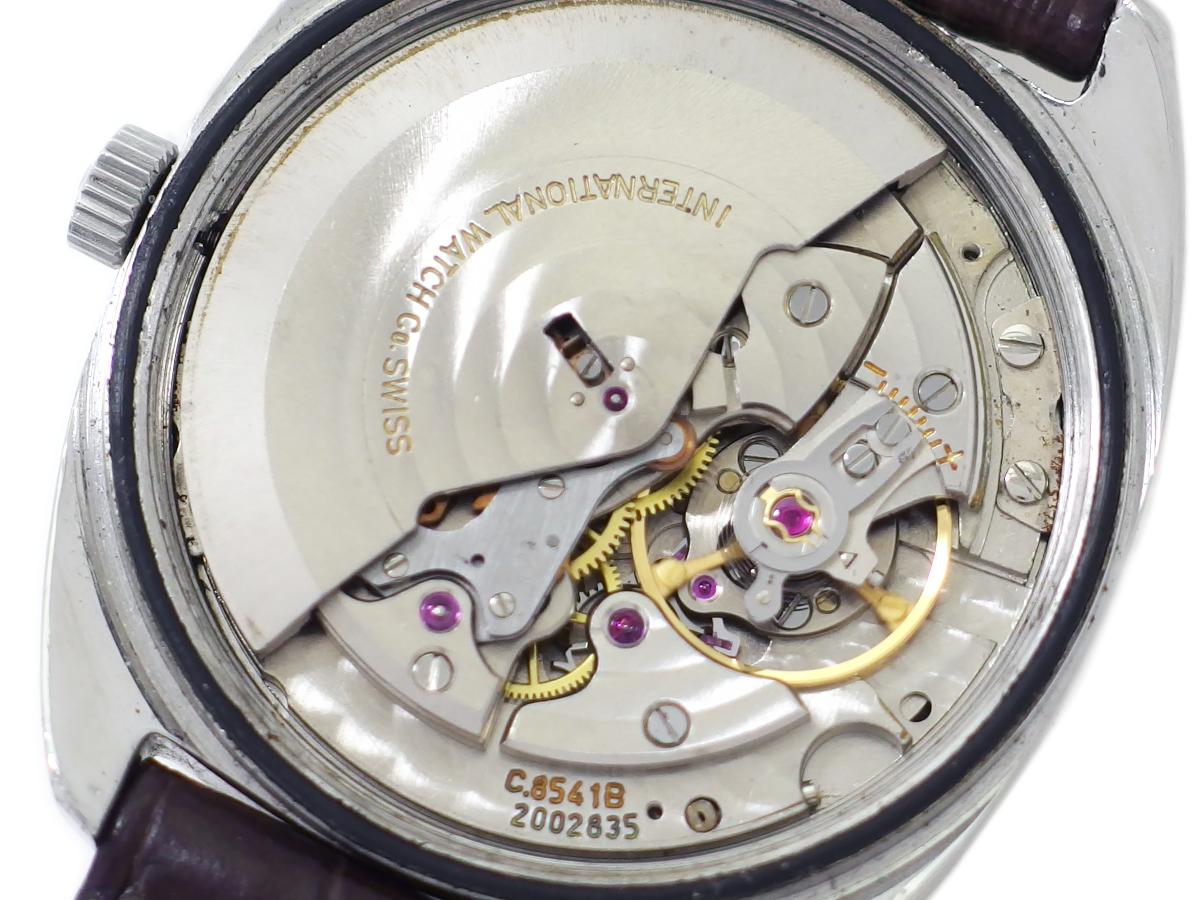 IWC Ref.1827 デイト トノー型ケース シルバー文字盤 Cal.8541B 自動巻 OH済 1970年製