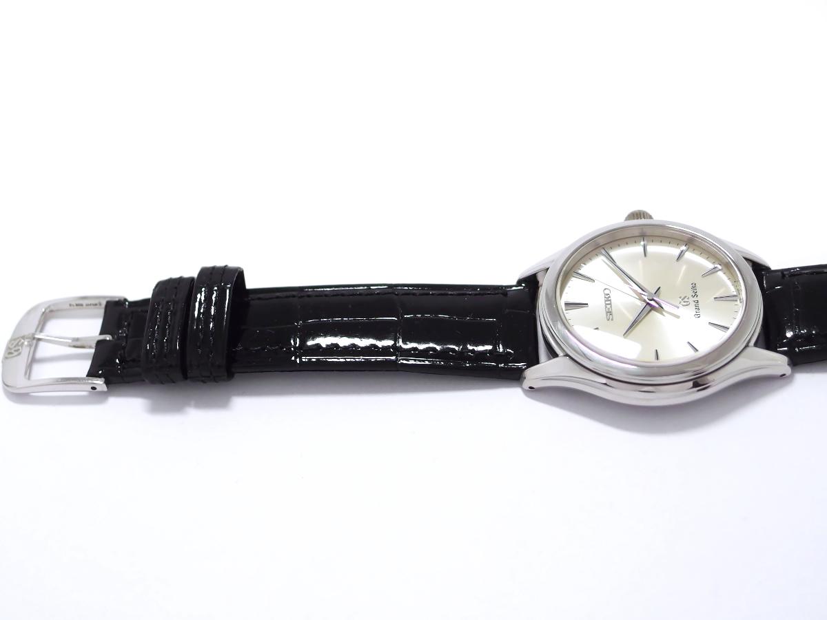 グランドセイコー SBGX017 9F61-0A40 プラチナ製ケース プラチナ製純正尾錠 Pt950 クオーツ 2000年製 USED Seiko