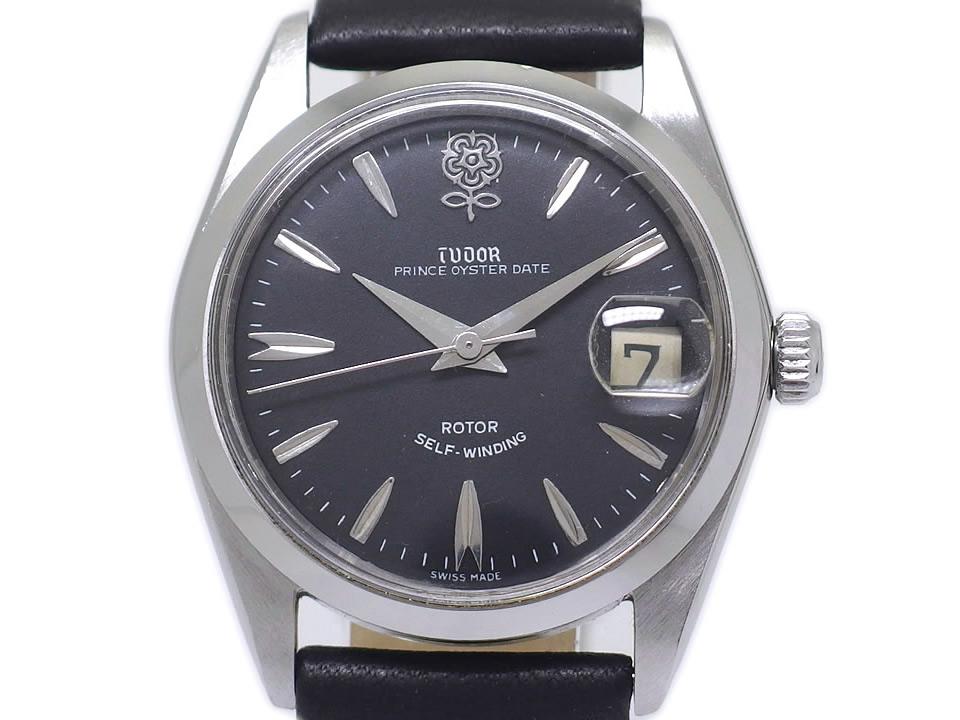 チュードル プリンスオイスターデイト Ref.7996 デカバラ Cal.2462 自動巻 OH済 1967年製 Tudor