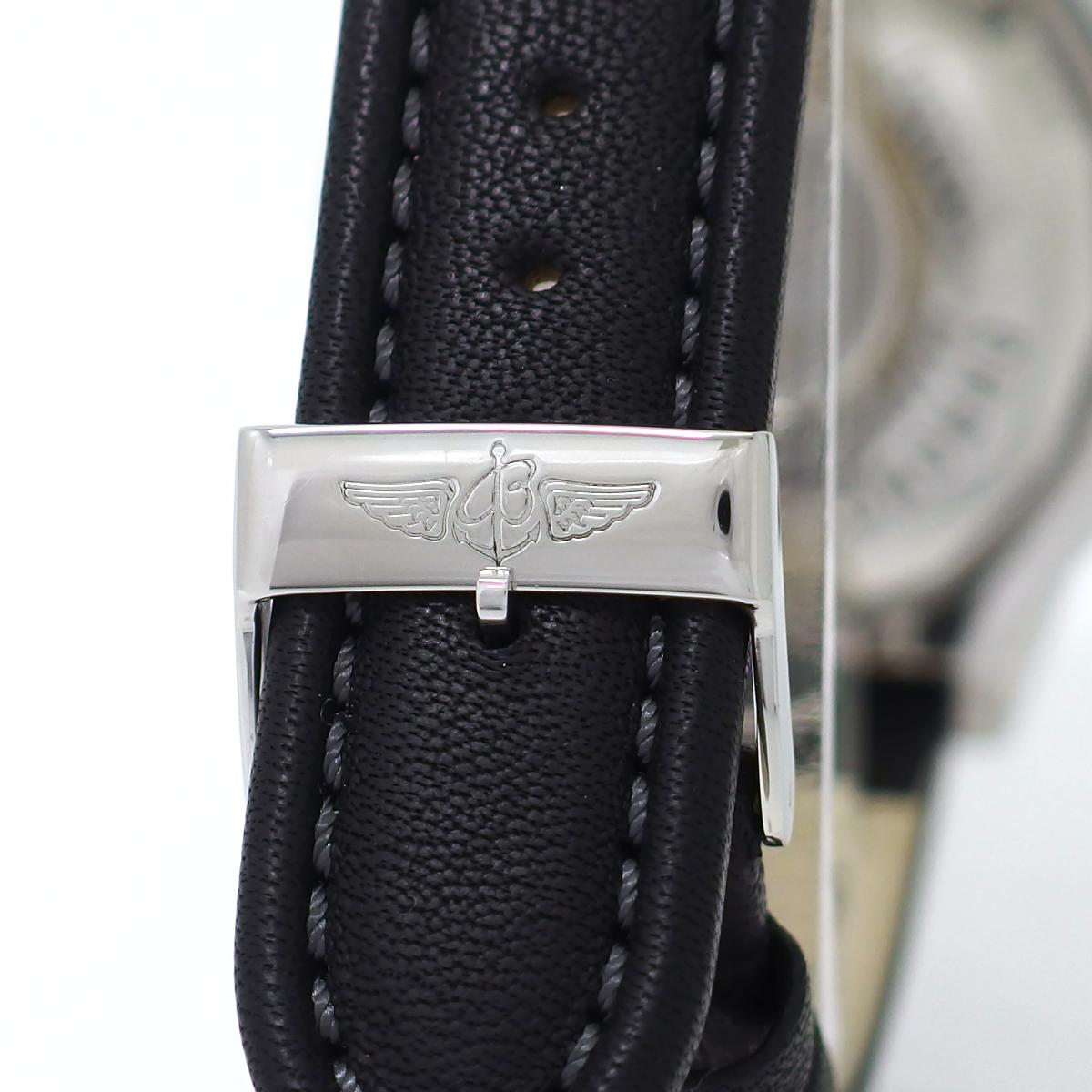 ブライトリング クロノマット GMT ロンジチュード A20348 グレー文字盤 自動巻 OH済 2000年購入 USED