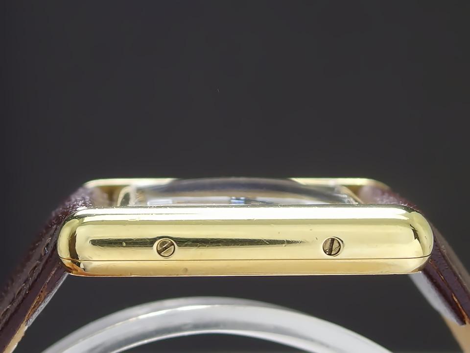 カルティエ マストタンク ヴェルメイユ Ref.5057001 レディース トリニティ ストライプ柄 純正尾錠 クォーツ USED