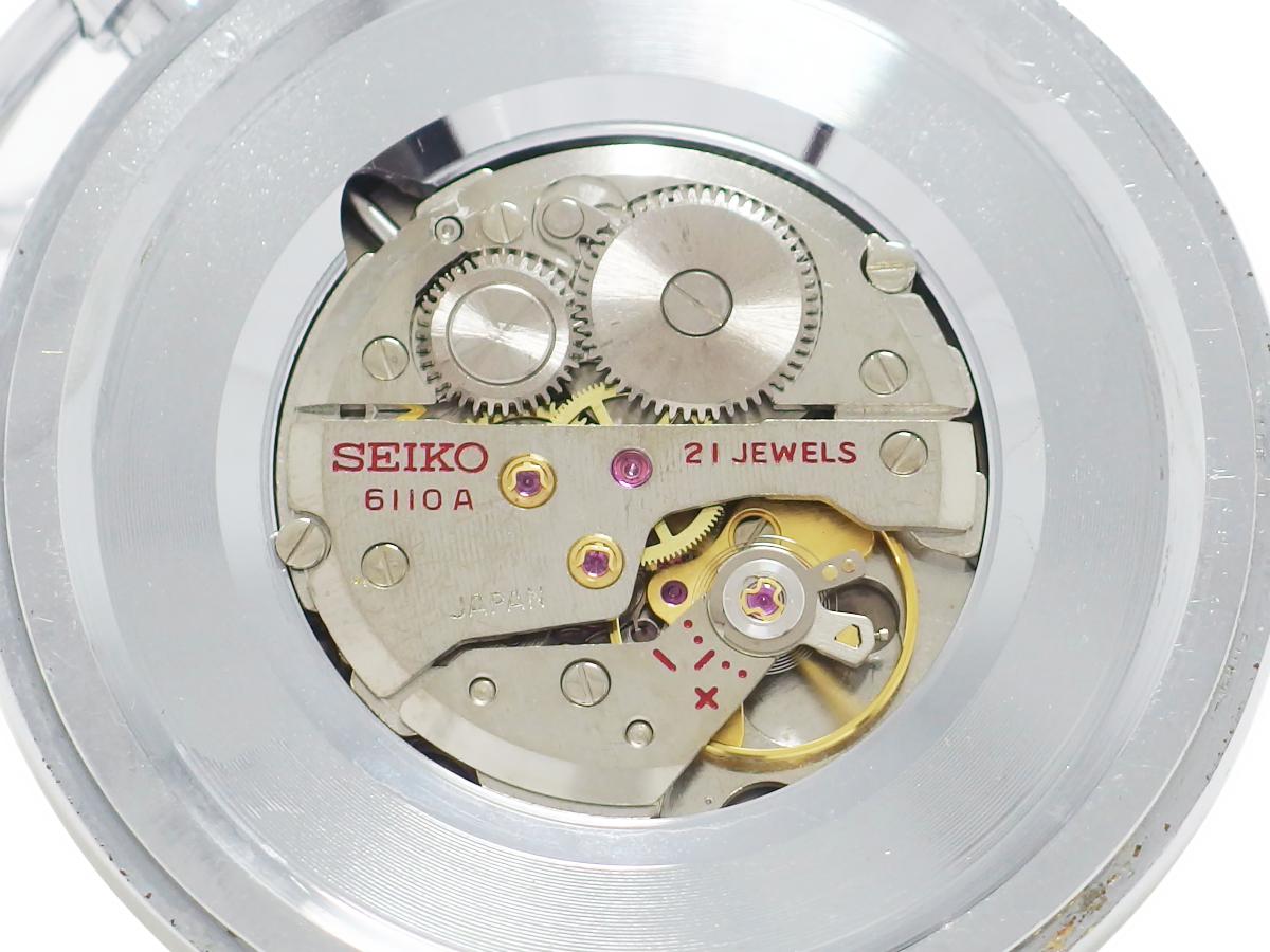 セイコー プレシジョン 懐中時計 6110-0010 Cal.6110A 21石 手巻 OH済 昭和47年/1972年製 Seiko