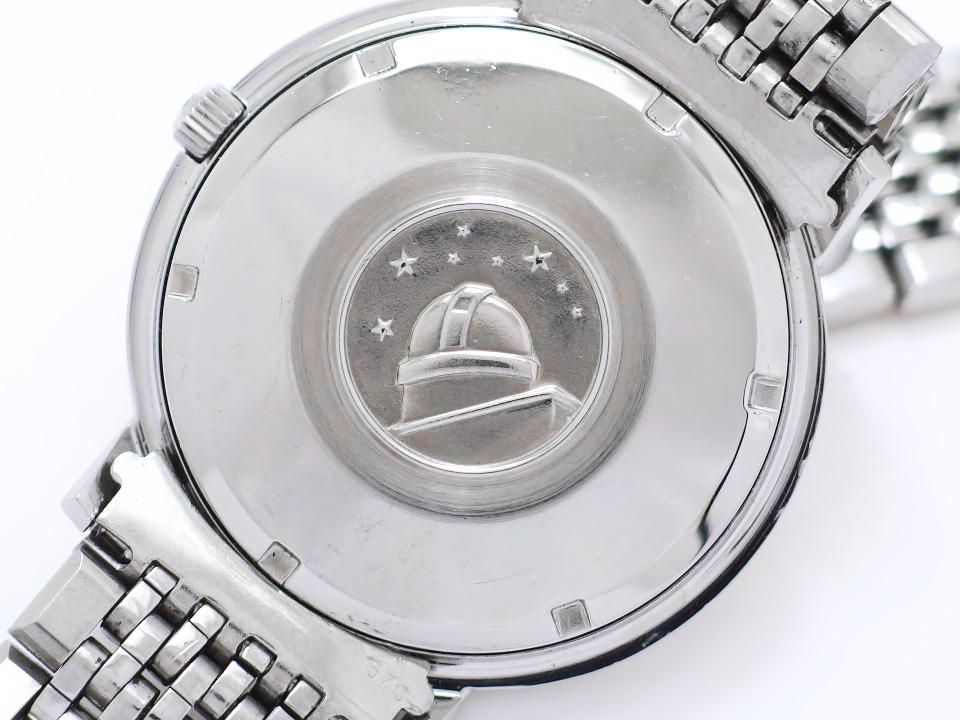 オメガ コンステレーション 168.004 チューラーWネーム クロスライン文字盤 純正9連ブレスレット Cal.561 自動巻 OH済 1967年製 Omega