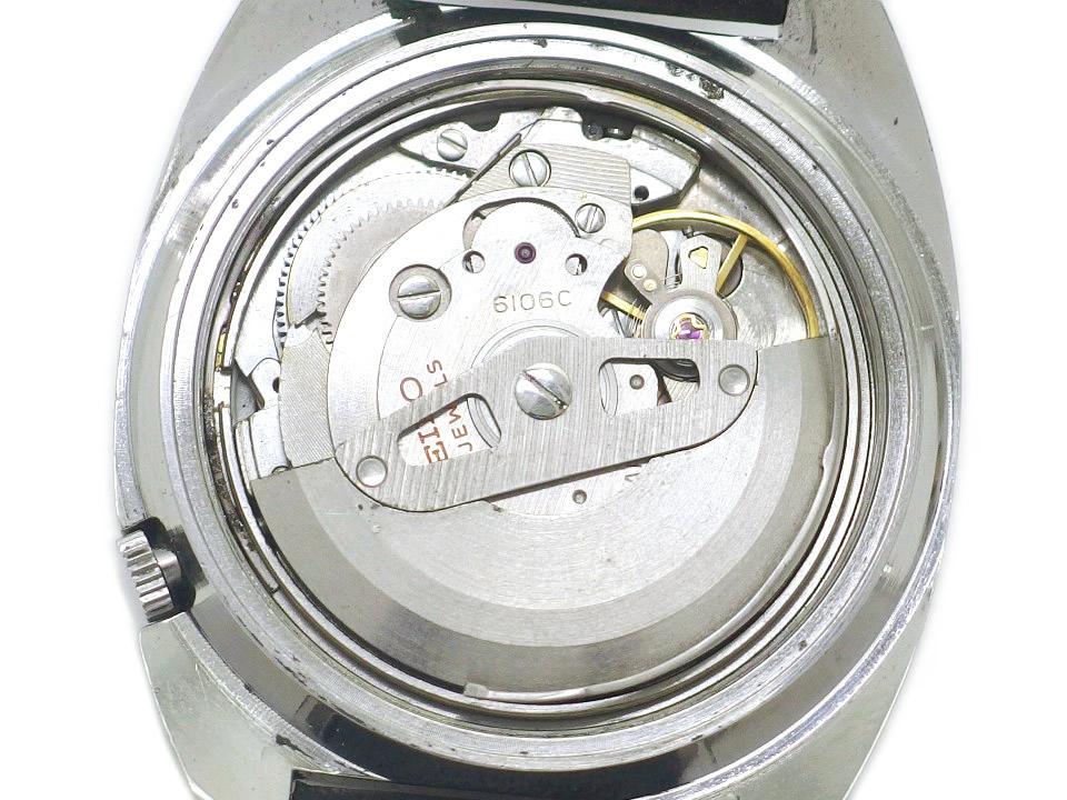 セイコー 5アクタス 6106-8420 23石 自動巻 OH済 昭和45年製