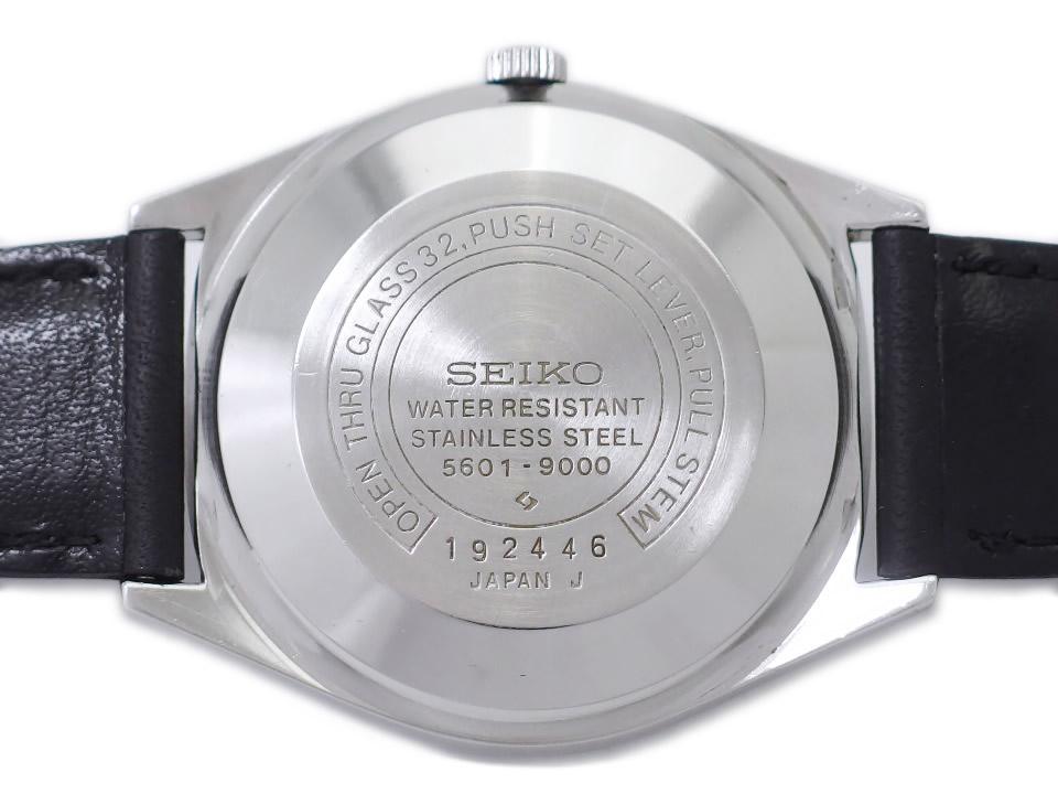 セイコー ロードマチック 5601-9000 アラビアインデックス ノンデイト 自動巻 OH済 昭和46年/1971年製