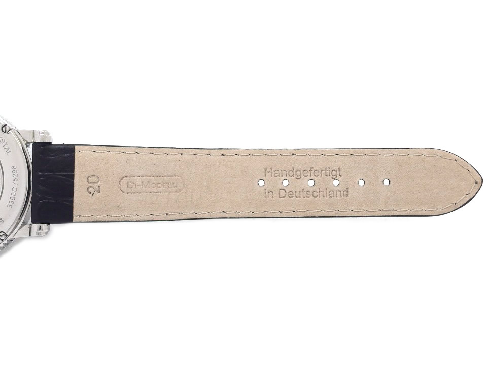 エポス エモーション 両面スケルトン メンズ 3390SKRBK 自動巻 OH済 USED