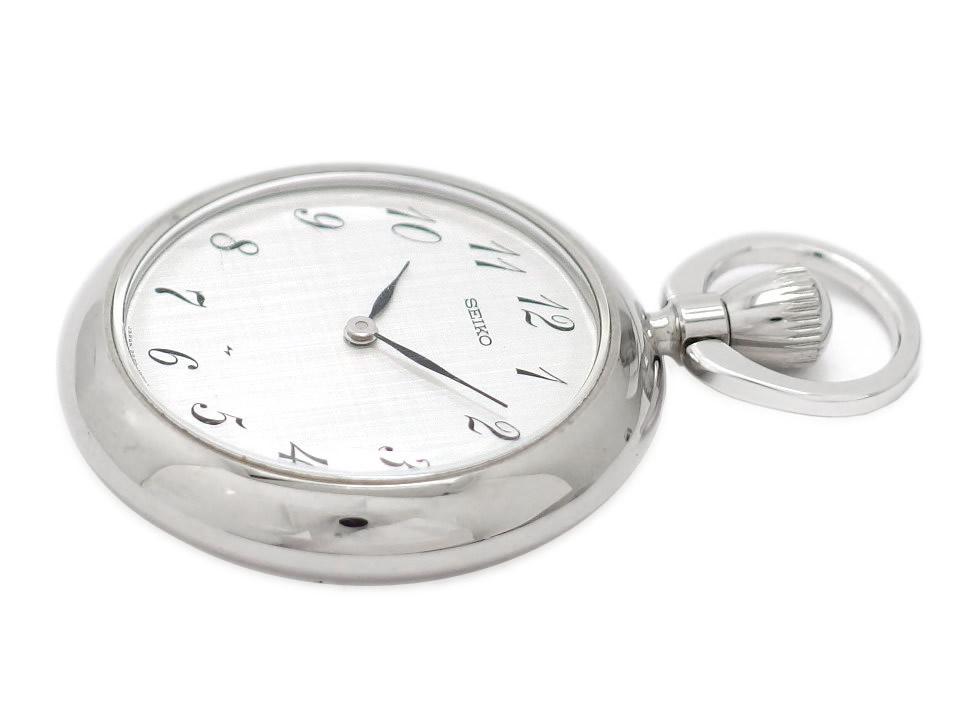 セイコー 懐中時計 ペンダントウォッチ 32mm 2220-0580 手巻 OH済 昭和53年/1978年製