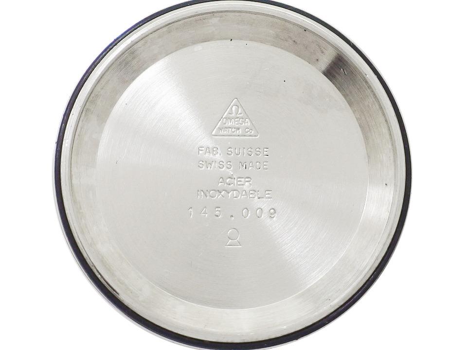 オメガ ジュネーブ クロノストップ 145.009 グレー文字盤 Cal.865 手巻 OH済 1968年製