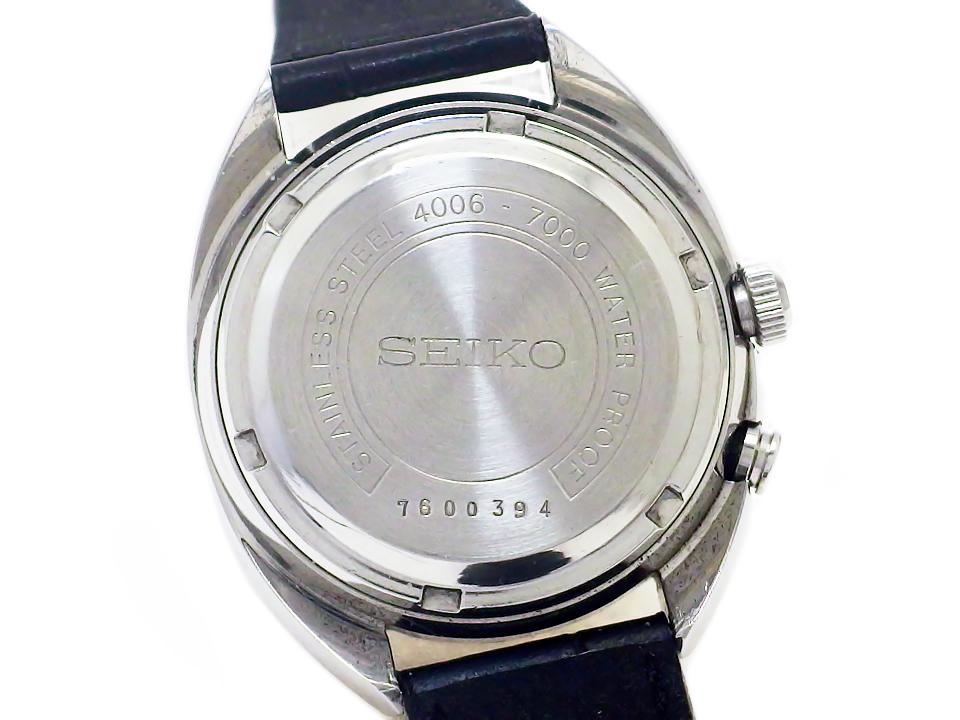 セイコー ベルマチック デイデイト 4006-7000 シルバー文字盤 自動巻 OH済 昭和42年製 Seiko
