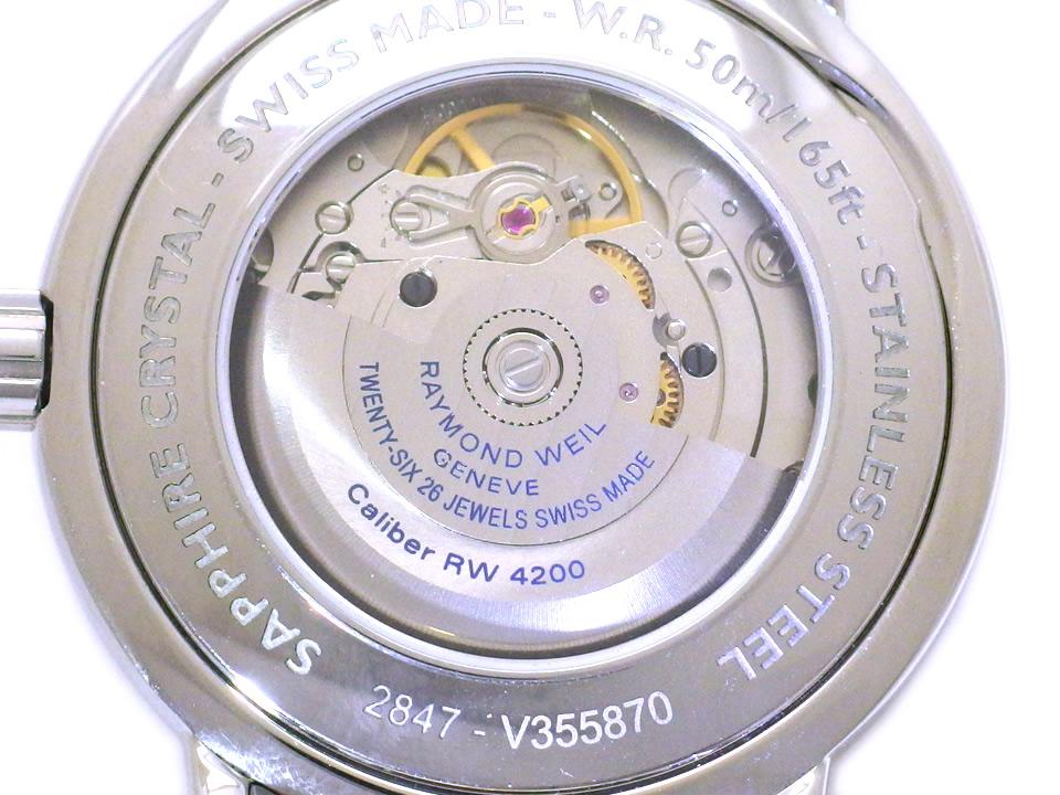 レイモンドウィル マエストロ 2847-STC-20001 Cal.4200 自動巻 USED