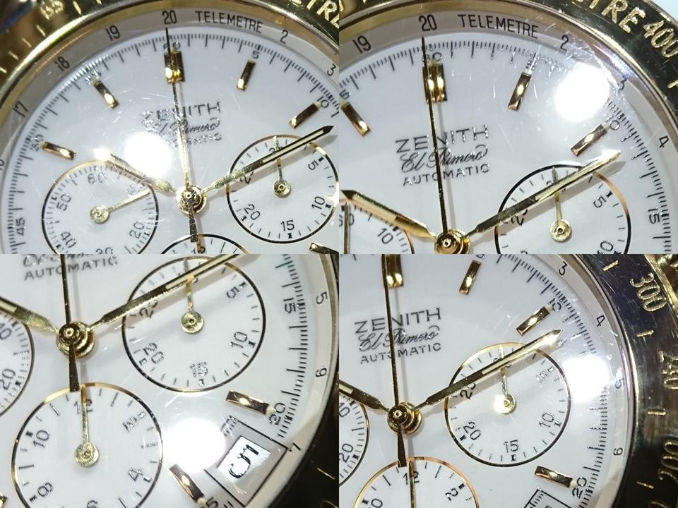 ゼニス レインボー エルプリメロ 53.0463.400 18KYG/SS 自動巻 OH済 1999年頃 USED