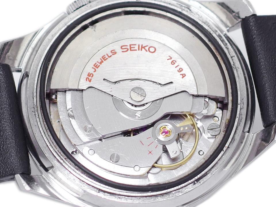 セイコー スポーツマチック ファイブ デラックス 7619-7010 自動巻 OH済 昭和40年製/1965年製 Seiko