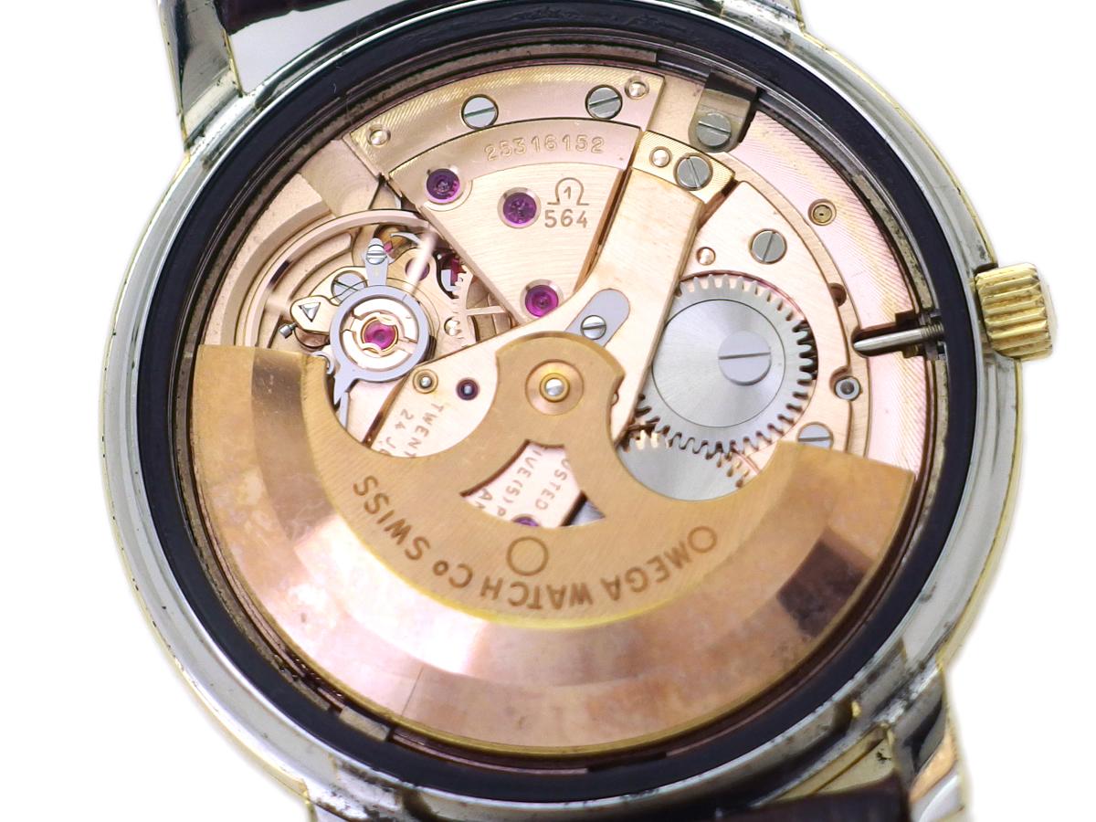 オメガ コンステレーション 168.010 キャップゴールドケース Cal.564 自動巻 OH済 1968年製 Omega