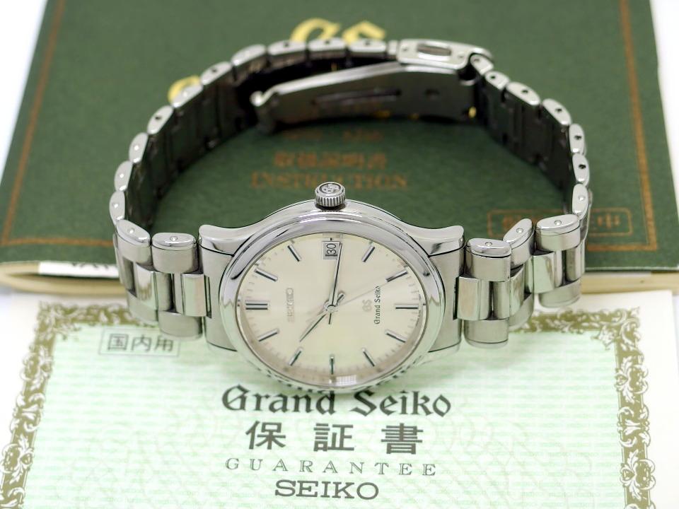 グランドセイコー SBGF013 8J56-7000 純正ブレスレット クオ−ツ 1999年製 USED Seiko