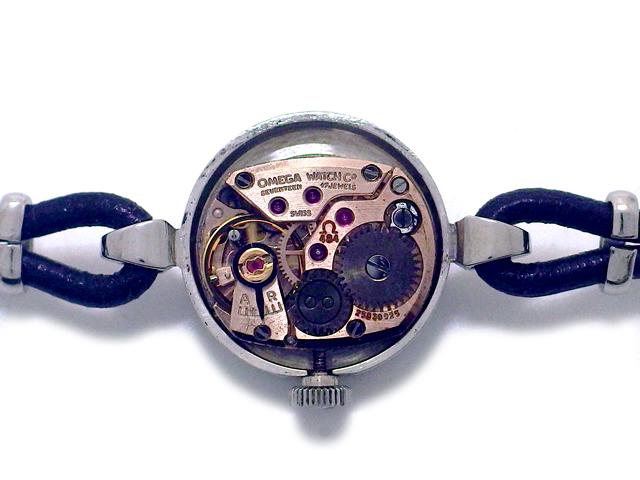 オメガ デヴィル 511.167 Cal.484 手巻 プリズム風防 レディース OH済 1968年製