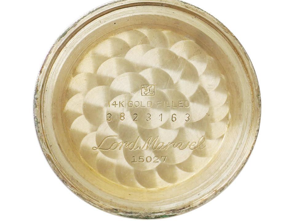 セイコー ロードマーベル 15027 14金張り AD文字盤 23石 手巻 OH済 昭和38年/1963年製 Seiko