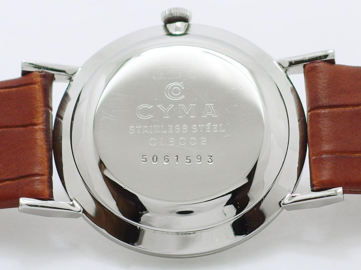 シーマ C15002 NIVAFLEX Cal.R459 17石 手巻 OH済 1950年代 Cyma