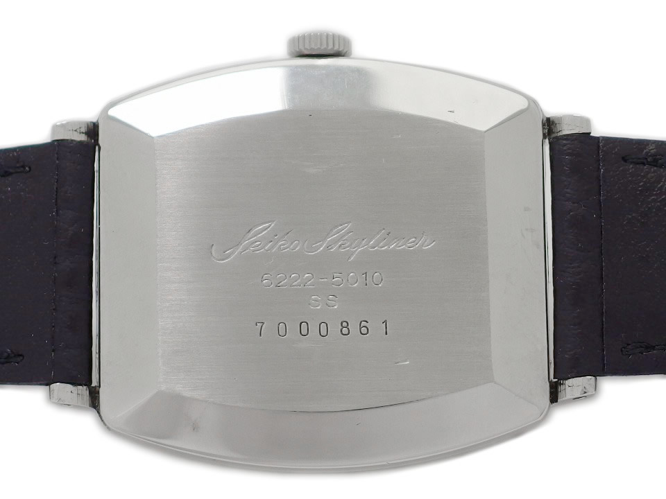 セイコー スカイライナー 6222-5010 スクエアケース 21石 手巻 OH済 昭和42年/1967年製 Seiko