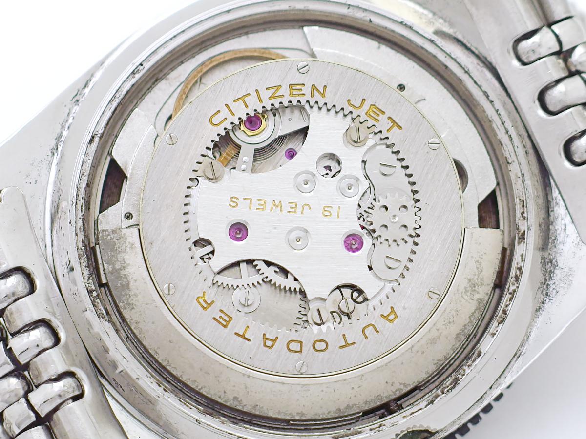【希少】シチズン ジェット オートデーター 120m ダイバータイプ ADRS51301-DA 純正ブレスレット 自動巻 OH済 1960年代