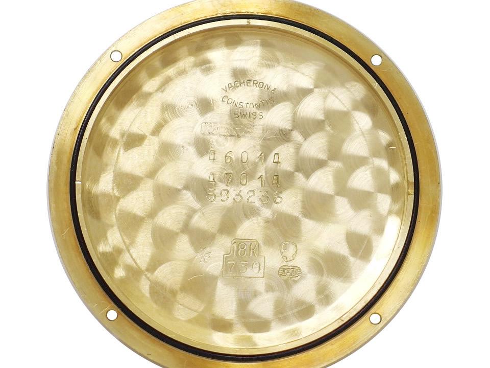 バセロンコンスタンチン パトリモニー Ref.46014/47014 18KYG/金無垢ケース 33石 Cal.1124/1 自動巻 OH済 1990年代 USED