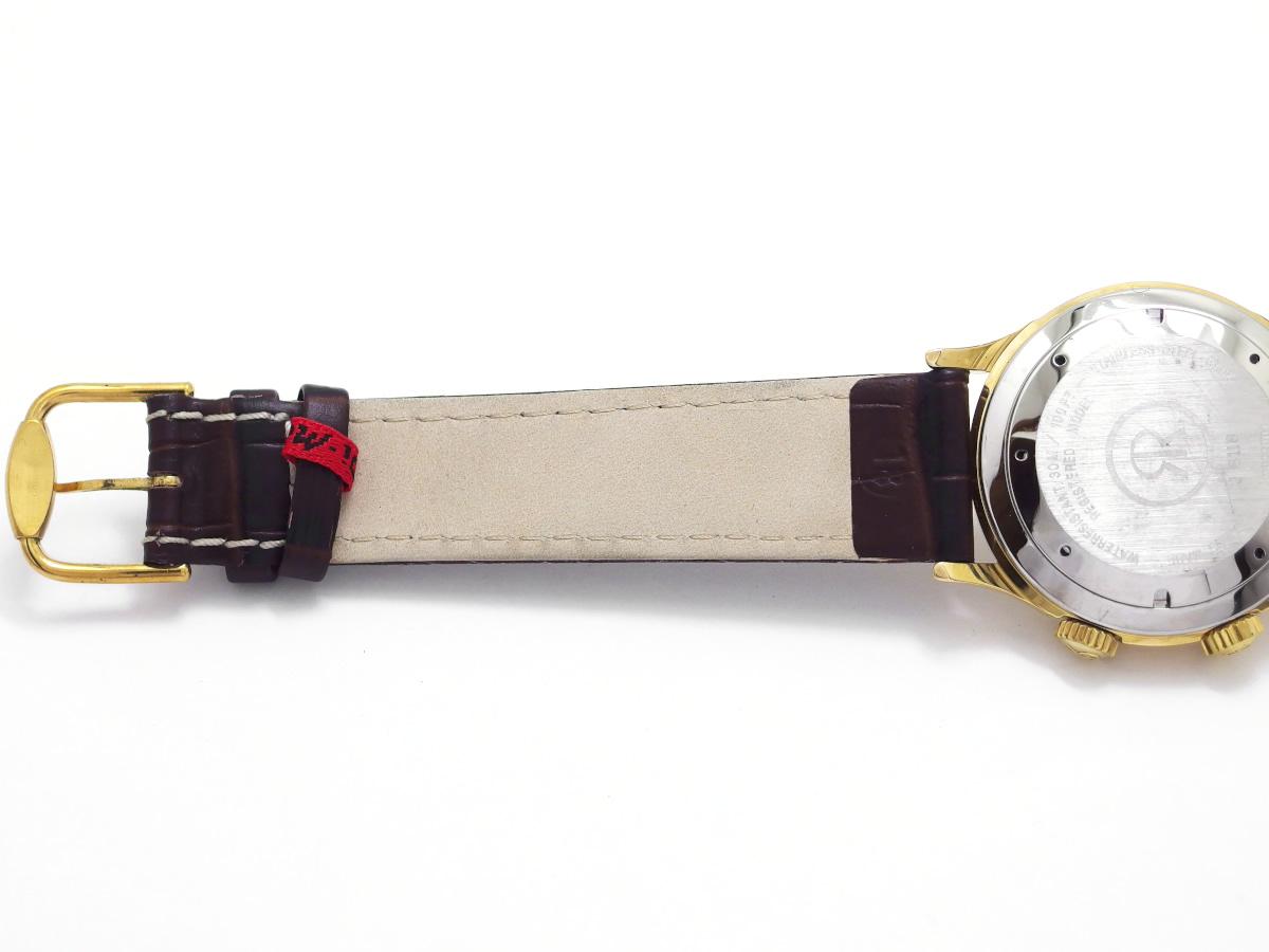 レビュートーメン クリケット 7922001 アラーム機能付き  Cal.AS1930 手巻 OH済 1990年代 USED