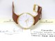 ユンハンス マックスビル デザイン 027 5703 00 34mm 金メッキ ノンデイト 手巻き USED