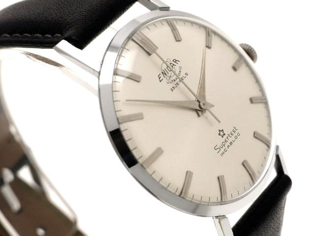エニカ スーパーテスト AR-1010 手巻 OH済 1960年代