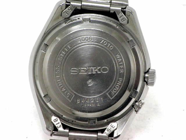 セイコー ベルマチック 4006-7010 黒 自動巻 OH済 昭和43年製