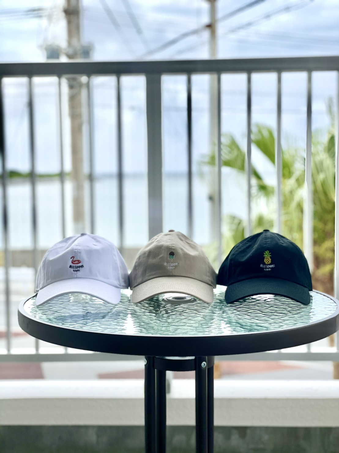 HELLO SUMMER CAP