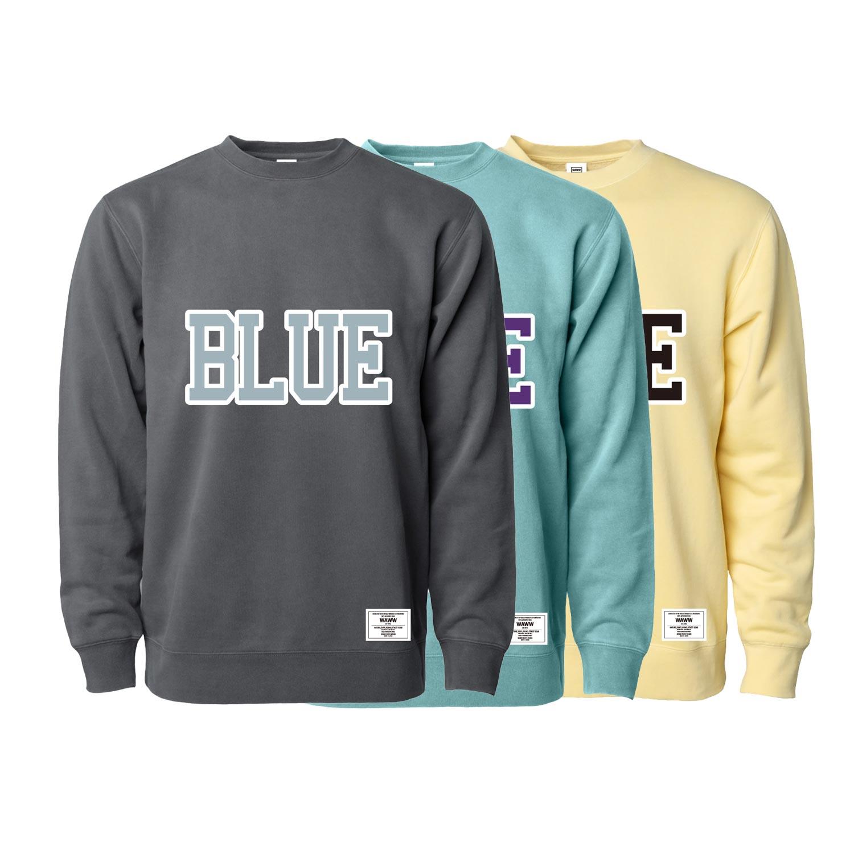 BLUE SWEAT