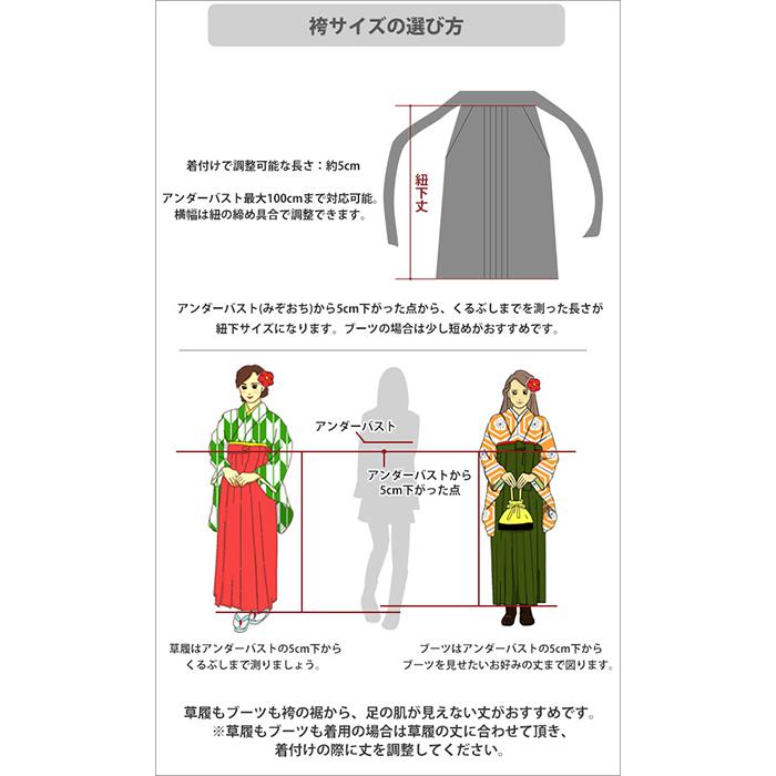 袴単品 桜柄グラデーション 刺繍入  卒業式 振袖 コスプレ 仮装 HL(アッシュエル)
