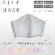 洗えるシルクマスク SILKMASK 抗菌防臭 黄変防止 ポーチ付き