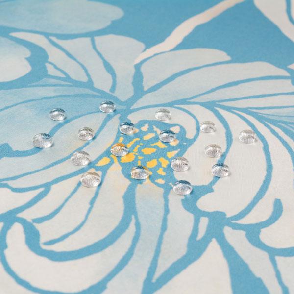風呂敷 96cm 超撥水風呂敷 ながれ 牡丹と菊 平織タイプ 96×96cm乱 日本製 水を弾く 撥水加工ふろしき 大判 大判風呂敷 防災 ギフト プレゼント